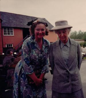Appearing in 'Miss Marple' with Joan Hickson