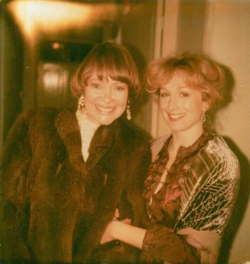 Daphne Neville with Cheryl Campbell in 'Rain on the Roof'