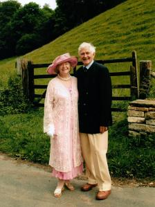 Daphne and Martin Neville at the time of their golden Wedding Anniversary