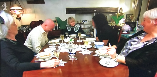 Come Dine With Me at Daphne Neville's house