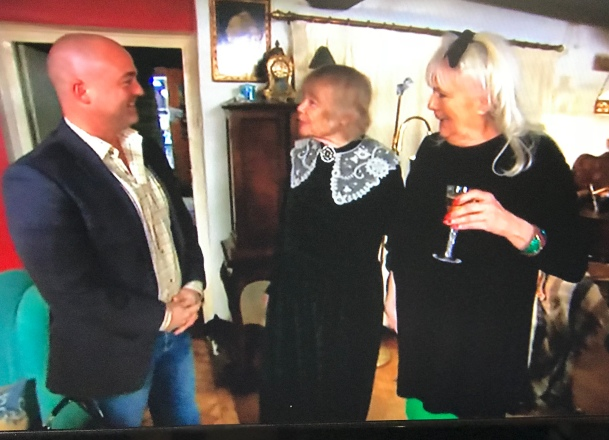 Come Dine With Me Group Standing