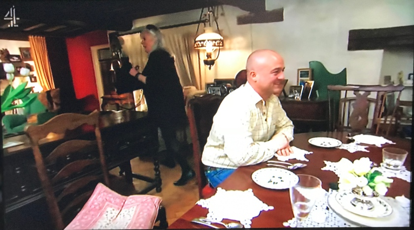 Come Dine With Me - lady leaving